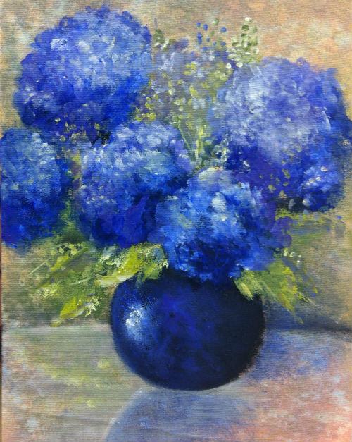 Vaso Azul 500